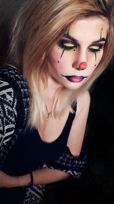 Halloween makeup mask