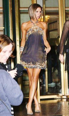 6875d73f5cab Mini Dress - Navy + Gold Catwalk Models, Roberto Cavalli, Her Style, Cavalli