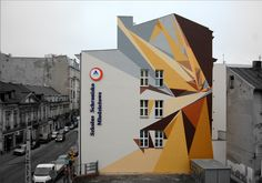 Mural installation Pener Galeria Urban Forms