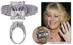 What gemstones do the British royal family prefer in their engagement rings? Well it appears that rubies may have a reputation for being unlucky, but diamonds and sapphires remain popular. Royal Engagement Rings, Prince Charles And Camilla, Prince Edward, Camilla Duchess Of Cornwall, Royal Uk, Princess Diana Family, Royal Tiaras, British Royal Families, Family Jewels