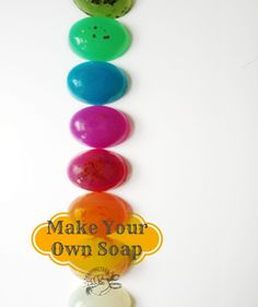 Make Your Own Soap Tutorial
