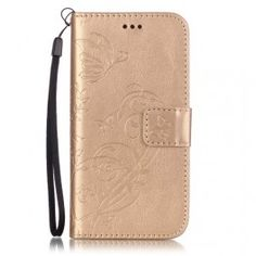 iPhone 7 kullan värinen perhoset puhelinlompakko. #iphone7 #gold #phonecase