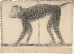 Georges Seurat | Monkey | The Met