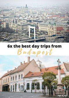 Going to Budapest for a city trip and looking for Budapest tips? Here you can read all about the best day trips from Budapest. North Europe, City Break, Outdoor Travel, Day Trips, Good Day, Paris Skyline, Travel Tips, Road Trip, Joy