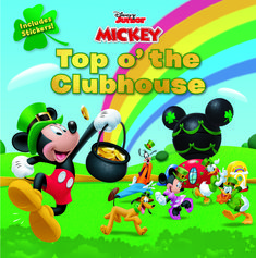 The Paperback of the Mickey Mouse Clubhouse: Top o' the Clubhouse by Disney Book Group, Marcy Kelman, Disney Storybook Art Team Christmas Books, Disney Christmas, Disney Princess Books, Disney Mickey Mouse Clubhouse, Minnie Mouse, St Patrick's Day Gifts, Day Book, Disney Toys, Disney Pixar