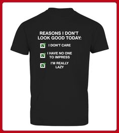 Reasons I Do Not Look Good Funny - Shirts mit logo (*Partner-Link)
