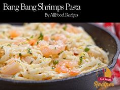 The favorite bang bang shrimp is turned into the creamiest, easiest pasta dishes…