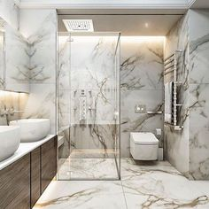 Bathroom inspiration, products and design! - Bathroom inspiration, products and design! Modern Room, Modern Bathroom, Modern Shower, Royal Bathroom, Bathroom Marble, Master Bathroom, Bathroom Pink, Bathroom Blinds, Stone Bathroom