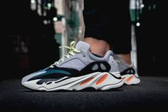 "adidas Originals YEEZY BOOST 700 ""Wave Runner"" On-Feet Look"