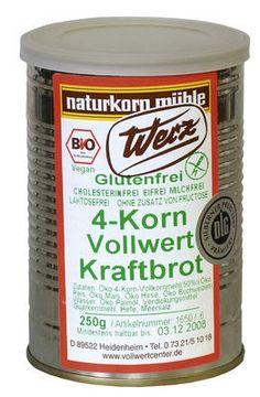 4-Korn Kraftbrot 6 x 250 g Set
