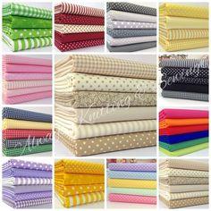 fat quarter bundles  BASICS RANGE blender bundles 100 % cotton fabric free P&P in Crafts, Fabric   eBay!