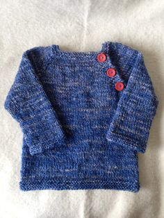 hand dyed hand knit toddler sweater by toniandteds on Etsy, $50.00