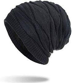 75c01beb054 Amazon.com  REDESS Slouchy Beanie Hat Men Women 2 Pack Winter Warm ...