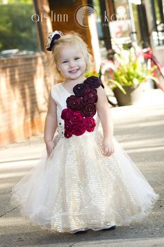 UNIQUE FLOWER GIRL DRESSES - Sanmaz Kones
