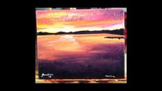 Original Acrylic on Canvas - Lake Murray *Jenna Voelker*