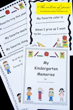 Homeschool Kindergarten graduation and more!!