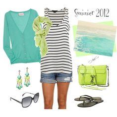 """Summer 2012"" by jill-hammel on Polyvore"