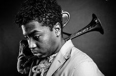 Christian Scott Jazz Trumpeter