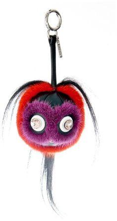 Monster charm bag keychain by fendi 9aa0d63ba3b64