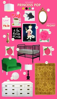 pink baby room ideas