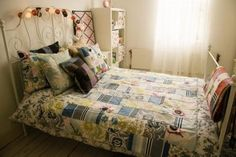 Cotton quilts for your room. A touch of summer to every bed. By Lisa Watson.