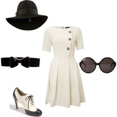 50's girl, created by anthropology.polyvore.com