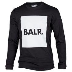 Long Sleeved Shirt Brand Flag - BALR.