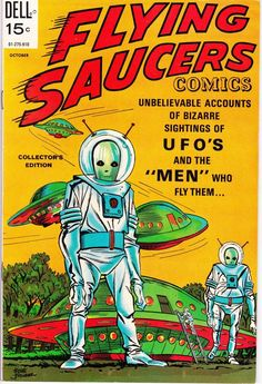 'Retro Vintage Comic Book Cover Flying Saucers UFO' iPhone Case by MaskedMarvel Archie Comics, Sci Fi Comics, Old Comics, Old Comic Books, Vintage Comic Books, Vintage Comics, Comic Book Covers, Vintage Posters, Silver Age Comics