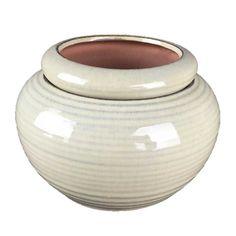 "7"" Sandy Beach Pearl Self Watering Pot Self Watering Pots, Pearl Beach, Pinch Pots, House Plants, Flower Pots, African Violet, Frontroom Ideas, Ceramics, Pearls"