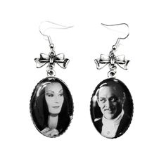 Gomez And Morticia Earrings
