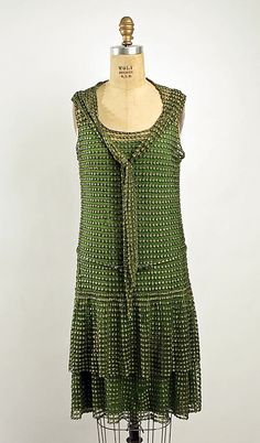 Evening Ensemble 1926, American, Made of silk. @designerwallace