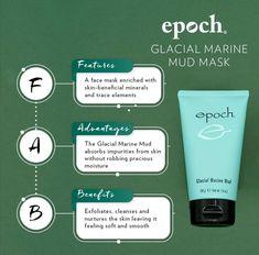 Marine Mud Mask, Glacial Marine Mud, Galvanic Spa, Healthy Skin Care, Epoch, Anti Aging Skin Care, Beauty Secrets, Face And Body, Nu Skin