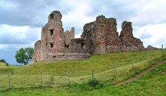 Brough Castle Ruins - Westmoreland, England