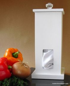 need to make this box for unpaper towels in the kitchen!