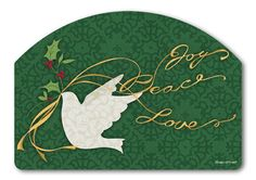 Magnet Works Yard DeSigns Yard Sign - Peace Dove Design Address Plaque at GardenHouseFlags