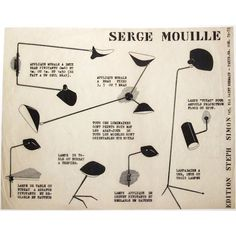 Serge Mouille One Arm Floor Lamp