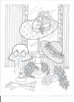 Free Printable Coloring Page With A Red Hat Theme For International Color It And