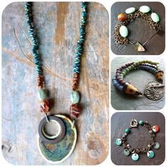 pretty jewelry from Lorelei Eurto