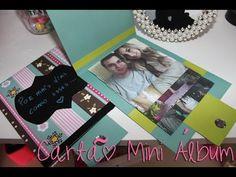 DIY: Cartão álbum de fotos