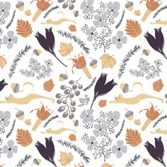 Cindy Carpenter | Missouri autumn | Module 1 Designing Your Way | September 2015 class | The Art and Business of Surface Pattern Design | Make it in Design