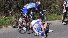 PARIS - ROUBAIX -  Arnaud Démare ne prendra pas le départ de l'Enfer du nord, dimanche. Le sprinter de la FDJ a été contraint de renoncer jeudi. Il souffrait de contusions multiples après sa chute dans le Tour des Flandres, dimanche dernier. ICI PARIS...