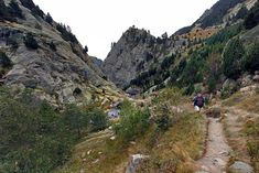 Hiking Trails Abound Around Pretty Vall de Nuria in the Spanish Pyrenees of Catalonia