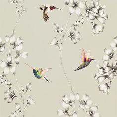 Products | Harlequin - Designer Fabrics and Wallpapers | Amazilia (HAMA111062) | Amazilia Wallpapers