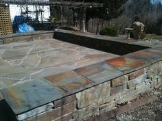 25 great stone patio ideas for your home | gardens - Different Patio Ideas