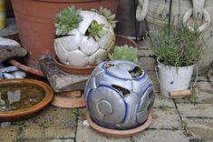Fußball Garten – Upcycling