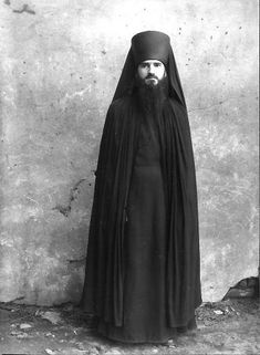 Humble Russian Monk