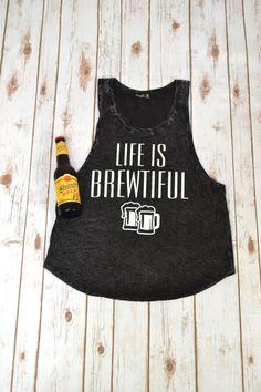 Life Is Brewtiful Tank