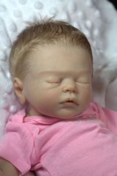 "Amazingly Cute Reborn Baby Girl From ""Amiah"" by Melody Hess ~ Now Baby Mary 