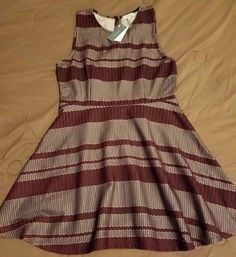Check out New with tags Halo fit and flare sleeveless dress size Large #Halo #fitandflare #anytime http://www.ebay.com/itm/-/292107812426?roken=cUgayN&soutkn=pFAntV via @eBay