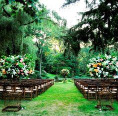 Venue 1 Outdoor Wedding Ceremonies Philadelphia Main Line Weddings Leford Evantine Design Green Le